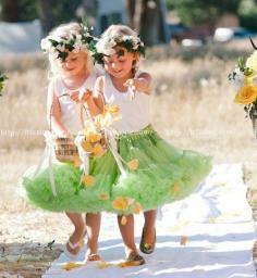 详解如何挑选婚礼花童 让你的婚礼浪漫童真