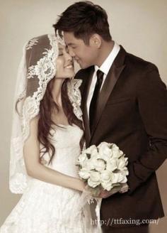时尚新娘发型图片 属于你的幸福时光