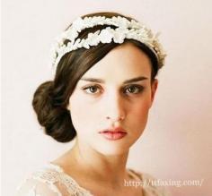 唯美浪漫新娘发型 成就最美新娘子