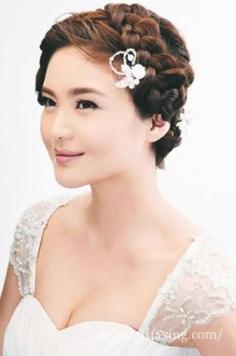 推荐5款夏季韩式新娘编发 夏日浪漫来袭