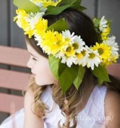 女花童发型设计图片 为婚礼带来无限的童趣