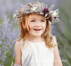 可爱花童发型图片鉴赏 给你不一样的婚礼花童