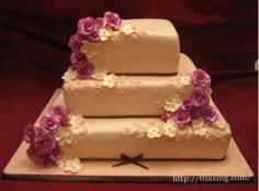 四款金典创意婚礼蛋糕 带给难忘的回忆