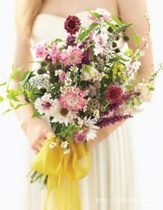 韩式新娘手捧花图片欣赏 打造与众不同的完美新娘