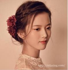 韩式新娘发型图片收集 打造婚礼上的动人焦点