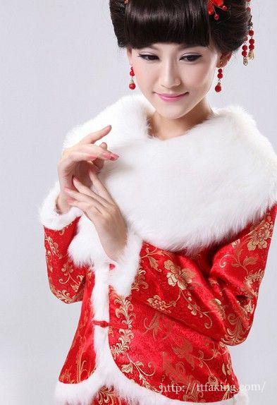 冬季婚纱怎么穿_