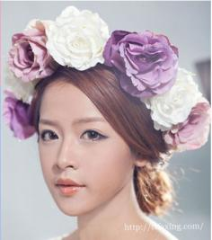 新娘发型图片分享 演绎时尚美丽气质