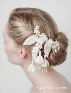 六款新娘发型图片推荐 做仙气儿十足美娇娘