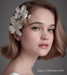 四款韩式新娘短发发型推荐 彰显不一样的气质