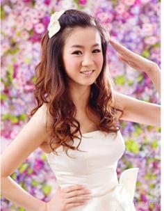 韩式伴娘发型分享 让你展现自身魅力