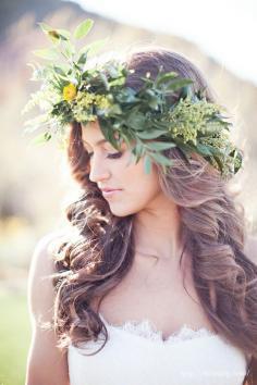 图解简单新娘发型步骤 不盘发的王妃发型