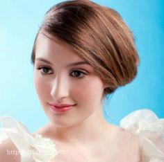 赏析新娘盘头图片 打造高贵气质的新娘造型