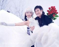 冬天婚纱照如何拍好看 完美婚纱照不分季节