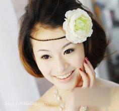 盘点韩式婚纱照新娘发型的流行趋势 打造流行婚照发型