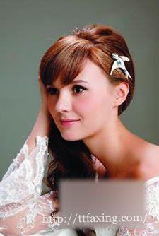 盘点时尚新娘发型 打造最美新娘