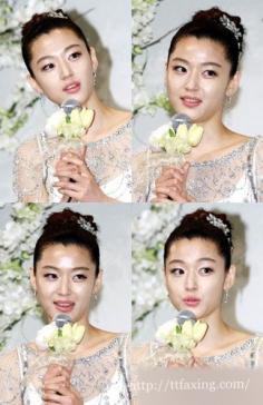韩国女星全智贤婚礼曝光 下嫁高富帅引众多明星好友前来祝贺