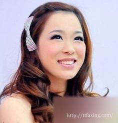 韩式伴娘发型赏析 打造秋季迷人的伴娘造型