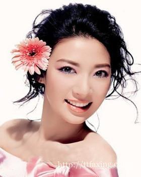 韩式新娘妆面造型特点图片