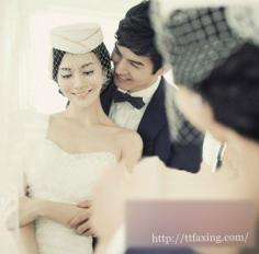 盘点2014韩式新娘盘发发型 打造简单的优雅气质新娘