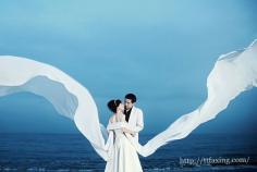 外景婚纱照片欣赏 感受自然风光抒写幸福爱情