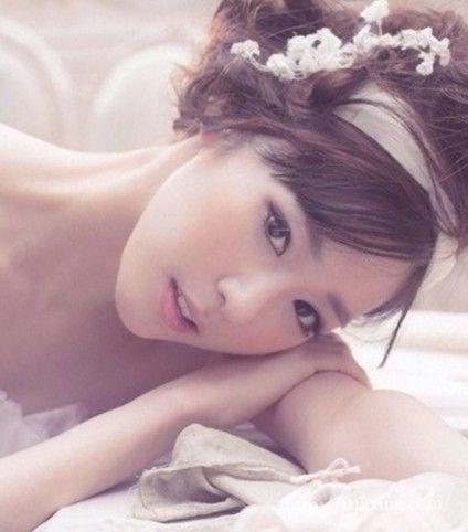 欣赏少女时代的新娘妆造型 打造韩式的甜美妆容