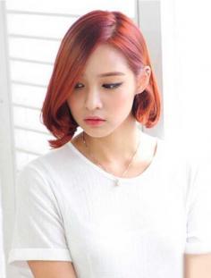 最新韩式短烫发发型,夏季修颜减龄最佳