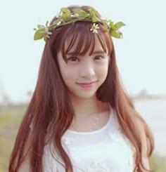 韩式空气感薄刘海发型