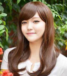最新韩式发型中长发甜美清新