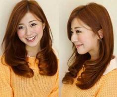 2015时尚流行的圆脸发型图片