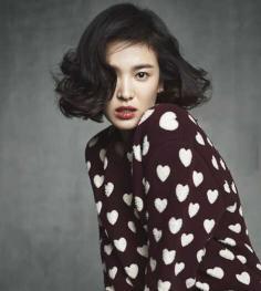宋慧乔波波头发型气质优雅迷人