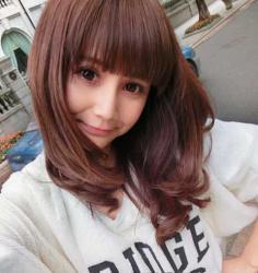 甜美减龄韩式中长发发型