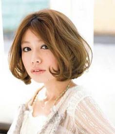 韩国最具人气的可爱波波头发型