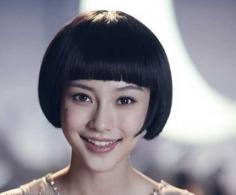 精灵可爱女生锅盖头短发发型