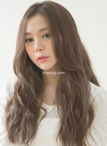 2015最新韩式女生爱爱,直发v女生任你选_流行什么长发发型注意要时图片