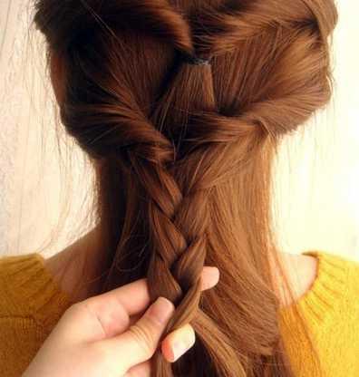 女夏季长发扎发型设计图片 第3页_流行发型