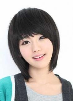 适合女生鹅蛋脸的短发发型图片