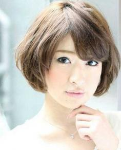 夏季新潮荷叶头短发发型