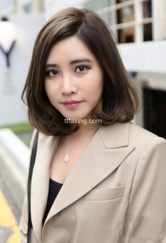 短发怎么烫好看?韩式短卷发甜美修颜