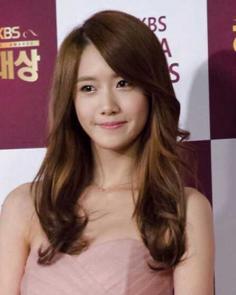 淑女甜美的韩国发型女卷中长发