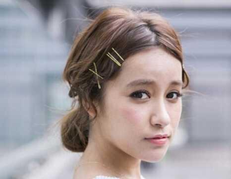 时尚韩式花苞头尽显甜美可爱