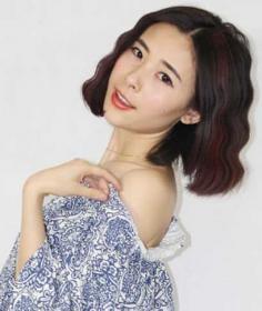 韩式水波纹烫发图片凸显精致小脸