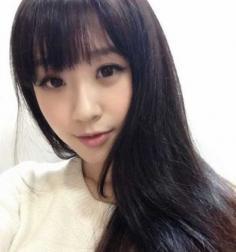 方脸适合的甜美齐刘海发型推荐