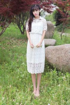 最新韩式齐刘海发甜美风十足