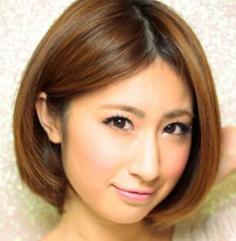 女生清新可爱人气波波头短发发型