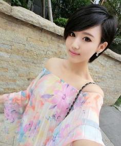 韩国女生最时髦短发发型