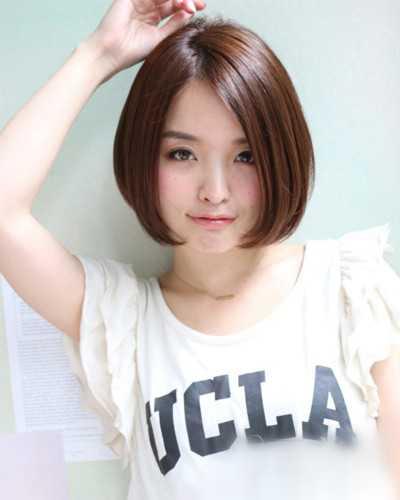而且有点小可爱,貌似现.鹅蛋脸女生适合什么样的短发?