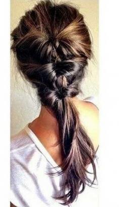 只需4步!简单好看的扎头发方法图解