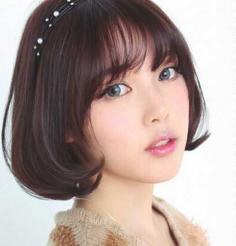 2015最新甜美短发烫发发型