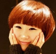 潮美时尚学生锅盖头短发发型设计