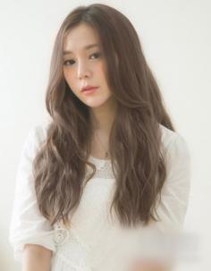 超美的韩式长发蛋卷头,长发妹子最爱